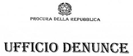Area tematica Denunce